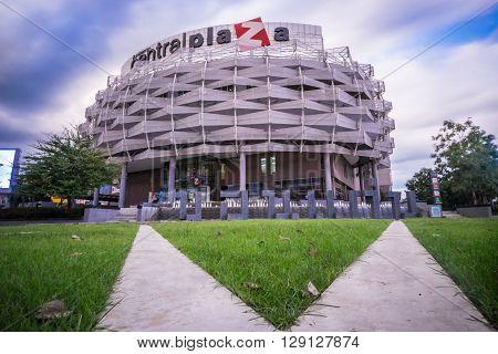 Khon Kaen Thailand - November 21: The front of the Central Plaza shopping mall in November 21.2014 Khon Kaen city.