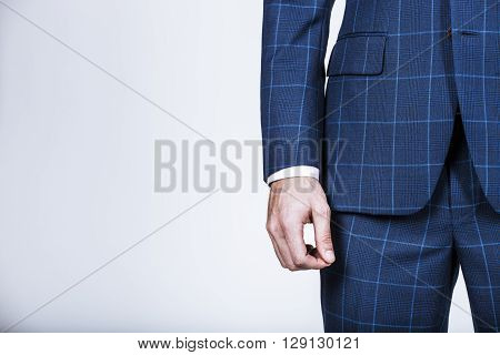 Detail Of A Businessman's Hand