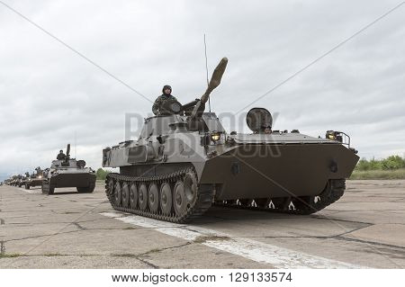 Bulgarian Army Battle Tanks