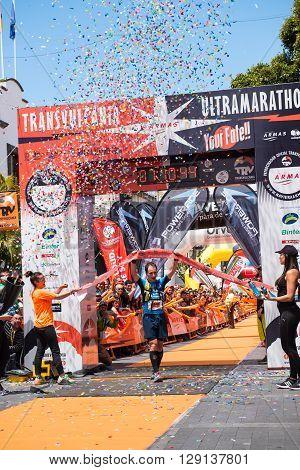 The Winner Of Transvulcania