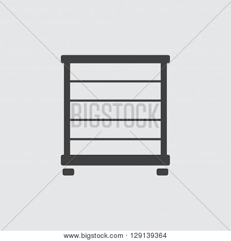 Towel rail icon illustration isolated vector sign symbol