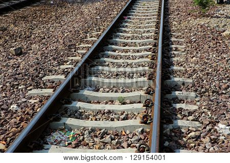 The Length Of The Railway Track In Thailand
