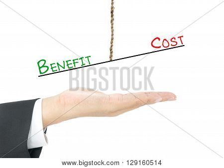 Benefit vs Cost comparison hang on rope