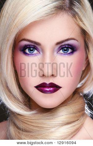 Violet Makeup