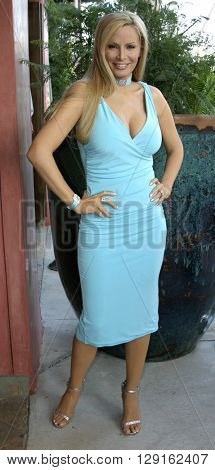 Cindy Margolis at the Grand Opening of Porta Bella in Beverly Hills, USA on September 2, 2005.