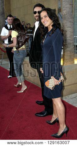 Bruno Bichir and Kate Del Castillo at the Los Angeles premiere of