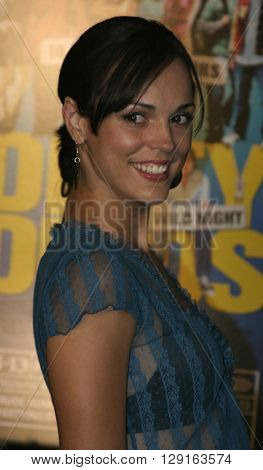 Erin Cahill at the World premiere of