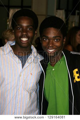 Daniel Curtis Lee and Nathaniel Lee at the World premiere of