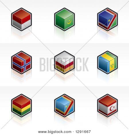 Flag Icons Set - Design Elements 56I