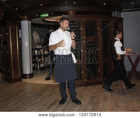LOS ANGELES - JAN 24:  Curtis Stone at the Launch of SHARE Resturant at the Princess Cruise Ruby Princess at the Los Angeles World Cruise Center  on January 24, 2016 in San Pedro, CA