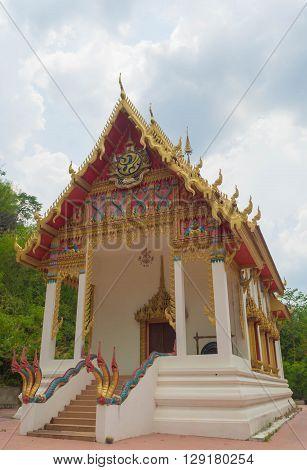 Sanctuary buddhism in nature Public & Famous Temple Sakon Nakhon Thailand