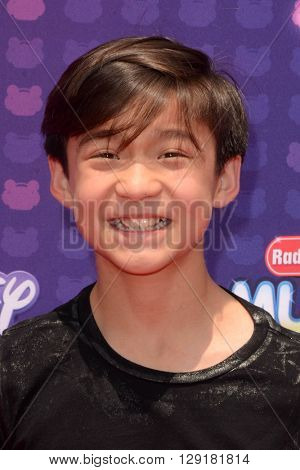 LOS ANGELES - APR 29:  Forrest Wheeler at the 2016 Radio Disney Music Awards at the Microsoft Theater on April 29, 2016 in Los Angeles, CA