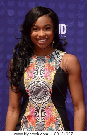 LOS ANGELES - APR 29:  Coco Jones at the 2016 Radio Disney Music Awards at the Microsoft Theater on April 29, 2016 in Los Angeles, CA