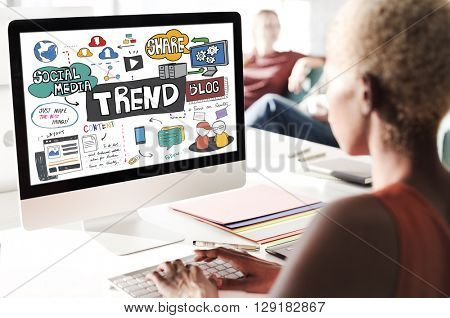 Trend Trendy Design Modern Style Fashion Latest Concept