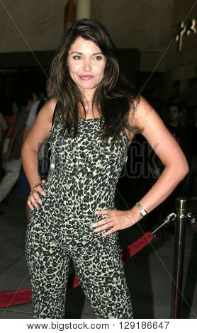 Devin Devasquez at the Los Angeles premiere of 'Vlad' at the Arclight Cinemas in Hollywood, USA on September 8, 2004.
