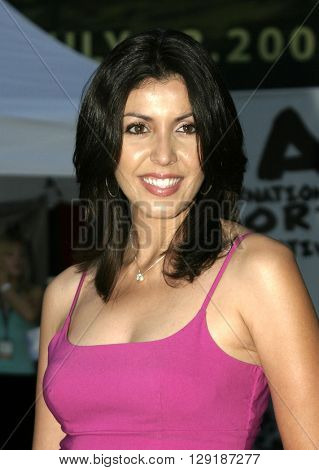 Lizette Lopez at the Los Angeles premiere of 'Vlad' at the Arclight Cinemas in Hollywood, USA on September 8, 2004.