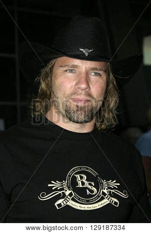 Brian Stace at the Los Angeles premiere of 'Vlad' at the Arclight Cinemas in Hollywood, USA on September 8, 2004.