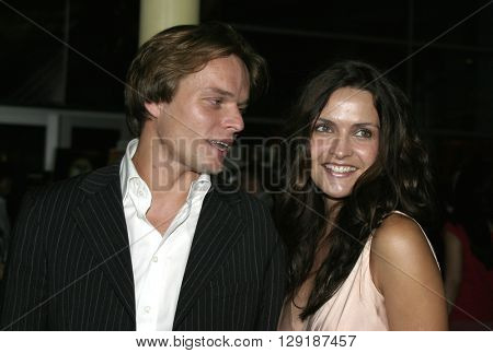 Iva Hasperger at the Los Angeles premiere of 'Vlad' at the Arclight Cinemas in Hollywood, USA on September 8, 2004.