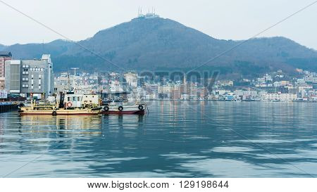 Fishing Boat Port, Haodate, Japan