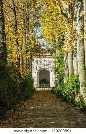 Boboli Gardens. Florence Italy