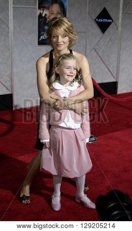 Jodie Foster and Marlene Lawston at the Los Angeles premiere of