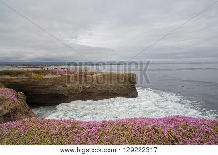 Vista Point to the Pacific Ocean, Santa Cruz, California