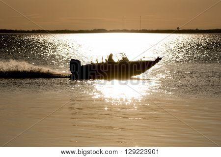 Sillouette Boat