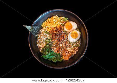 ramen broth japanese kind of noodle soup