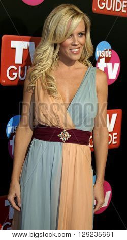 Jenny McCarthy at the TV Guide and Inside TV 2005 Emmy After Party at the Roosevelt Hotel in Hollywood, USA on September 18, 2005.
