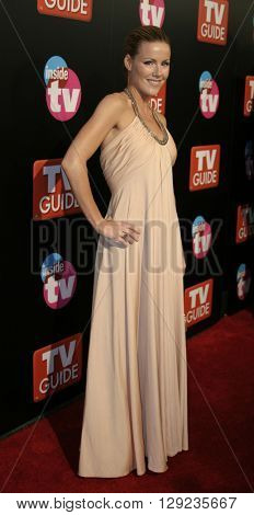 Kathleen Robertson at the TV Guide and Inside TV 2005 Emmy After Party at the Roosevelt Hotel in Hollywood, USA on September 18, 2005.