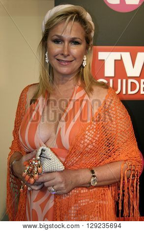 Kathy Hilton at the TV Guide and Inside TV 2005 Emmy After Party at the Roosevelt Hotel in Hollywood, USA on September 18, 2005.
