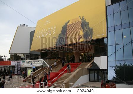 CANNES, FRANCE - MAY 10: A general view of atmosphere on during the 67th Annual Cannes Film Festival on May 10, 2016 in Cannes, France.