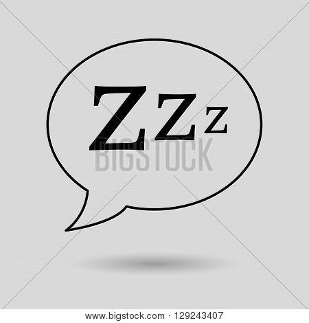 sleeping concept design, vector illustration eps10 graphic