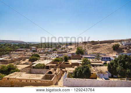 Nubian village on the Nile.