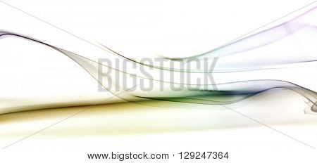 Wall texture added,extremely detiled colorful smoke on the white background