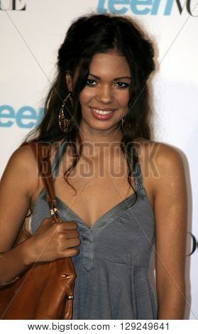 Jennifer Freeman at the Teen Vogue Celebrates