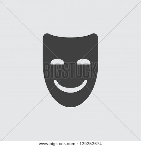 Mask icon illustration isolated vector sign symbol