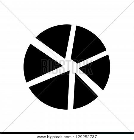 an images of Camera Diaphragm Icon Illustration design
