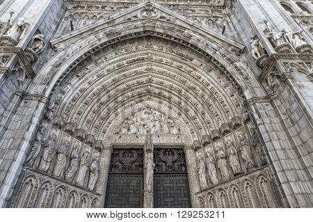 Toledo Cathedral Door