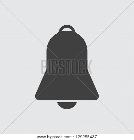 Bell icon illustration isolated vector sign symbol