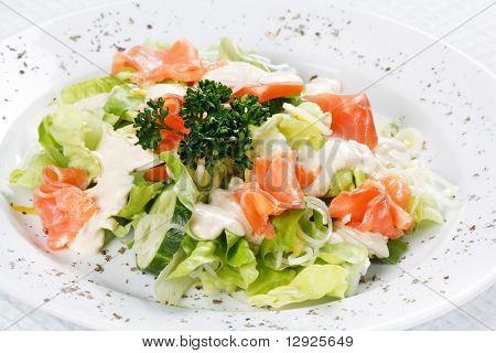 peces de deseo de ensalada