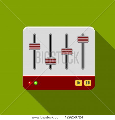 Sound mixer icon illustration isolated vector sign symbol