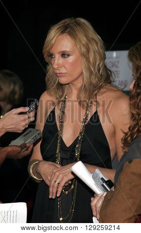 Toni Collette at the Los Angeles premiere of