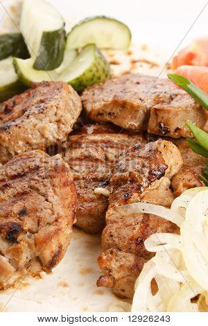 grill meat beef steak