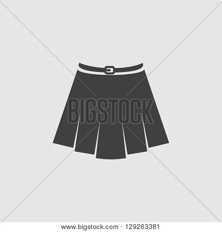 Skirt icon illustration isolated vector sign symbol