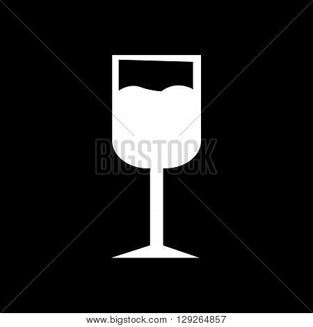 an images of Wine Cup icon Illustration design