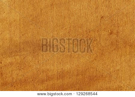 Dirty Orange Cloth Texture.