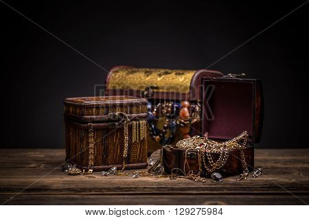 Chest With Jewelry