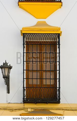 The Window of the Old Spain House