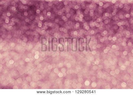 Vintage Soft Pink Bokeh For Romantic Valentine Background